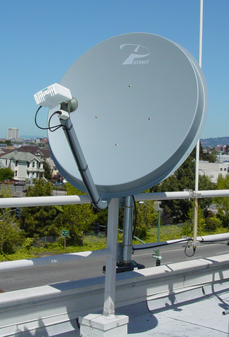 VSAT 1.2 Meter 6 W Fixed Site Ku-Band Antenna $5000