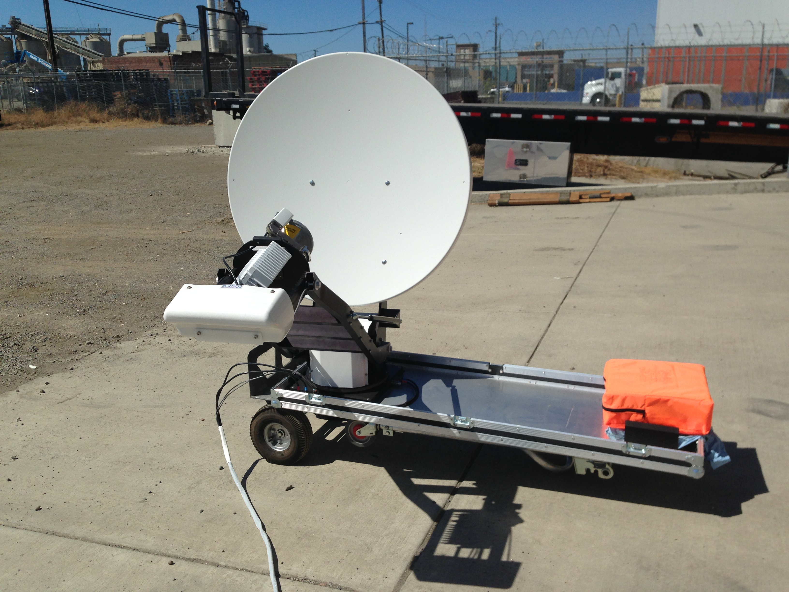 Toughsat XP 0.98 Meter Flyaway Satellite System $ 19,744.00