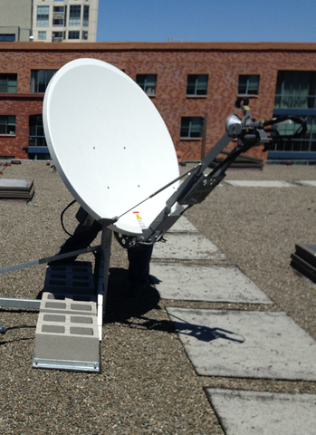 VSAT Winegard SPA1200 Dual Network 1.2M Ku-Band Antenna $ 15,800