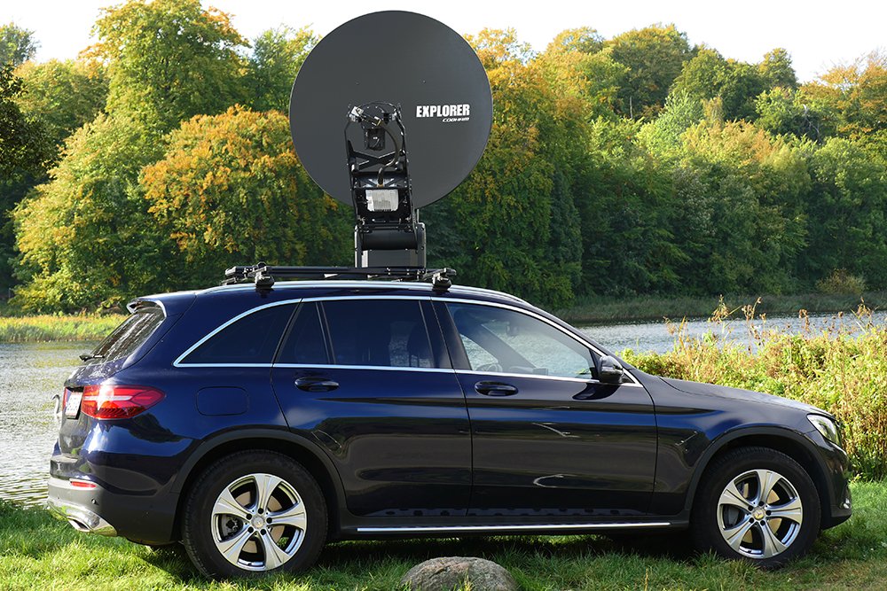 Explorer 8120 1.2 Stabilized, Auto Acquire, Drive-Away Antenna System w/ Scalable BUC options $ 32,000.00