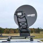 Cobham Explorer 3075 0.7 meter Multi Band Manual Fly Away VSAT System