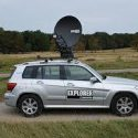 Cobham Explorer 8100 and 8120 1.0 /1.2 meter Drive-Away VSAT with Auto-Acquire Antenna System